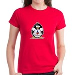 The Penguin Party Penguin Women's Dark T-Shirt