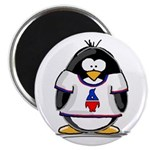 The Penguin Party Penguin Magnet