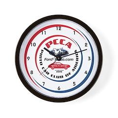 PCCA Wall Clock