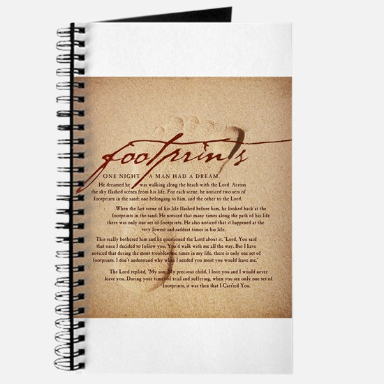 Footprints Artwork Products Journal