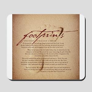 Footprints Artwork Products Mousepad