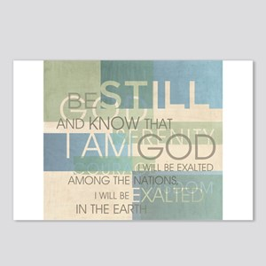Psalm Scripture Collage Produ Postcards (Package o