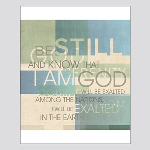 Psalm Scripture Collage Produ Small Poster