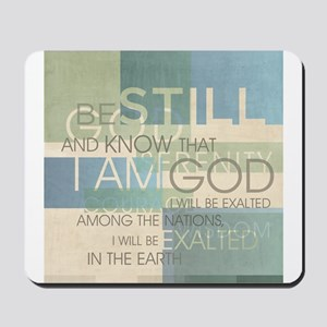 Psalm Scripture Collage Produ Mousepad