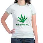 est 10,000 b.c. Jr. Ringer T-Shirt