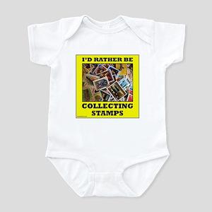 STAMP COLLECTOR Infant Bodysuit