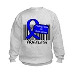 Cure For Colon Cancer Kids Sweatshirt
