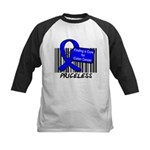 Cure For Colon Cancer Kids Baseball Jersey