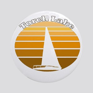 Torch Lake, Michigan Ornament (Round)