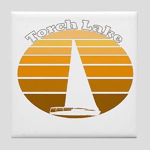Torch Lake, Michigan Tile Coaster