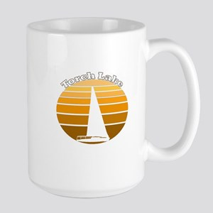 Torch Lake, Michigan Large Mug