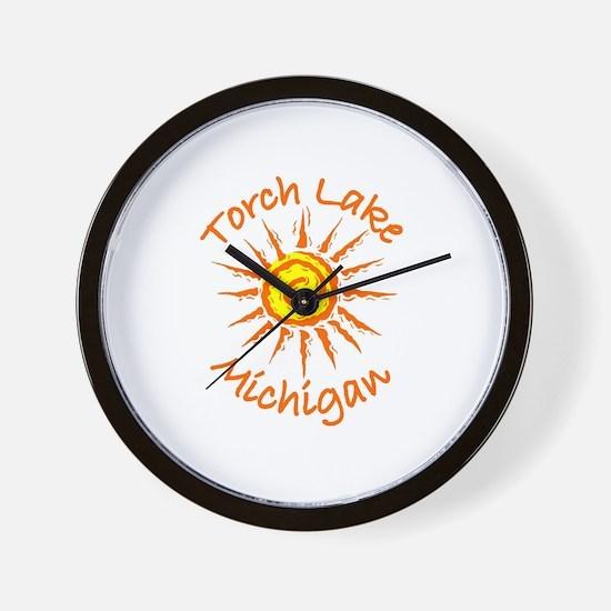 Torch Lake, Michigan Wall Clock