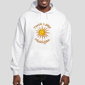 Torch Lake, Michigan Hooded Sweatshirt