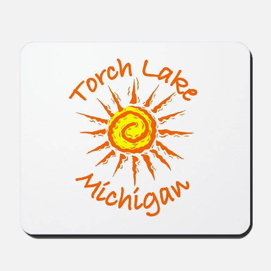 Torch Lake, Michigan Mousepad