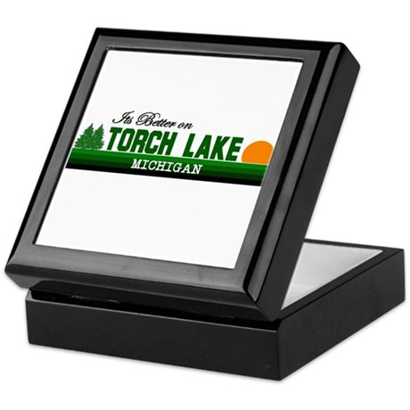 Its Better on Torch Lake, Mic Keepsake Box