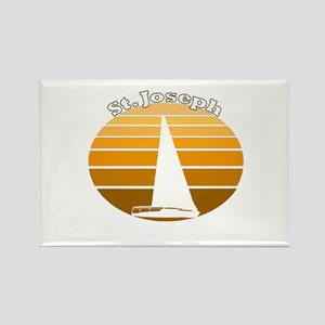St. Joseph, Michigan Rectangle Magnet
