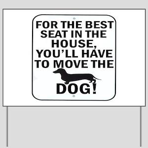 Best Seat Yard Sign