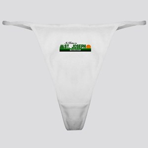 Its Better in St. Joseph, Mic Classic Thong