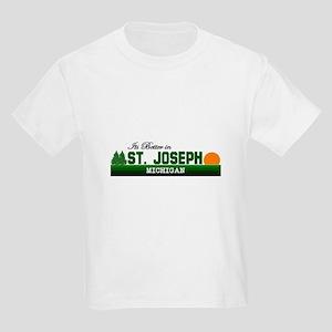 Its Better in St. Joseph, Mic Kids Light T-Shirt