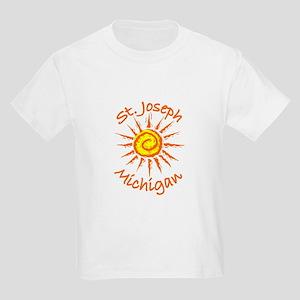 St. Joseph, Michigan Kids Light T-Shirt