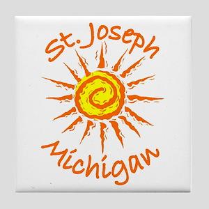 St. Joseph, Michigan Tile Coaster