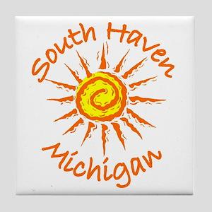 South Haven, Michigan Tile Coaster