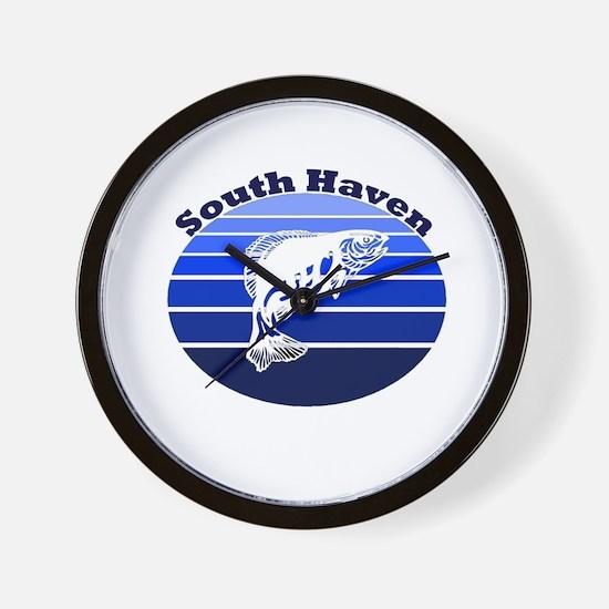 South Haven, Michigan Wall Clock