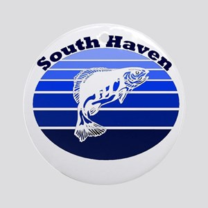 South Haven, Michigan Ornament (Round)