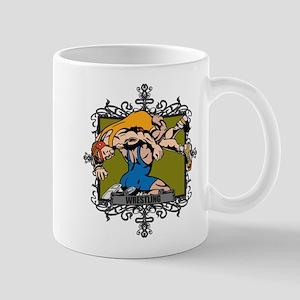 Aggressive Wrestling Mug