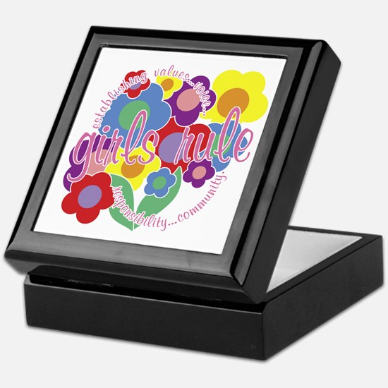 Girls Rule! Keepsake Box