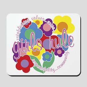 Girls Rule! Mousepad