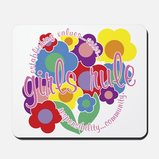 Girls Rule! Mousepad