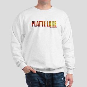 Platte Lake, Michigan Sweatshirt