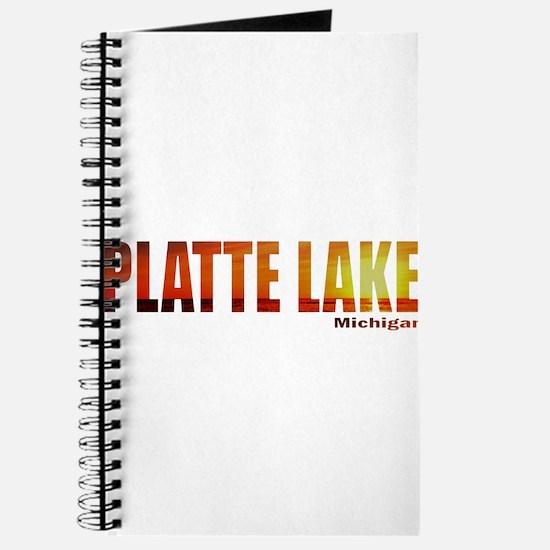 Platte Lake, Michigan Journal