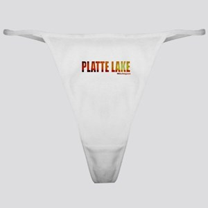 Platte Lake, Michigan Classic Thong