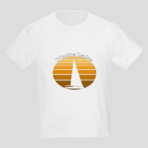 Platte Lake, Michigan Kids Light T-Shirt