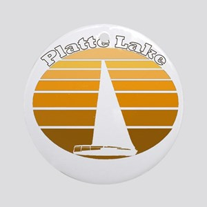 Platte Lake, Michigan Ornament (Round)