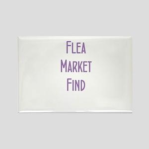 Flea Market Find Rectangle Magnet