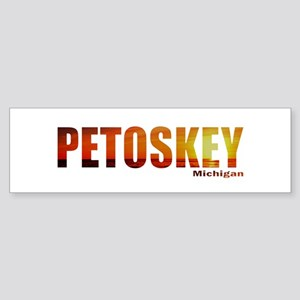 Petoskey, Michigan Bumper Sticker