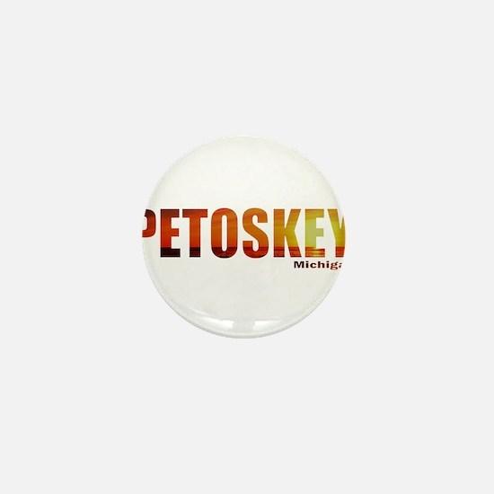 Petoskey, Michigan Mini Button
