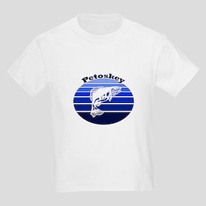 Petoskey, Michigan Kids Light T-Shirt