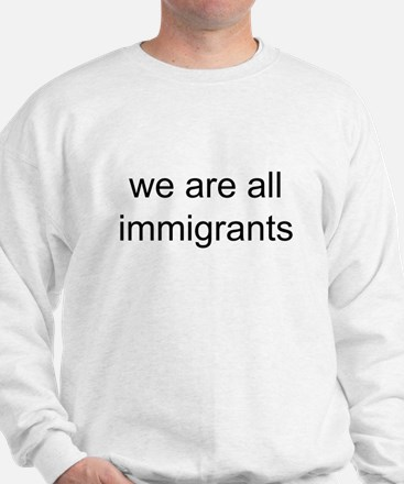 we are all immigrants Jumper