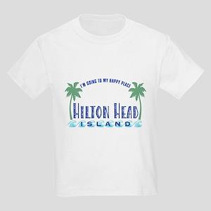 Hilton Head Happy Place - Kids Light T-Shirt