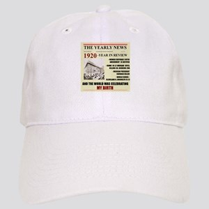 born in 1920 birthday gift Cap