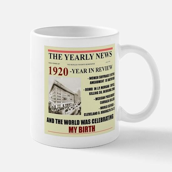 born in 1920 birthday gift Mug