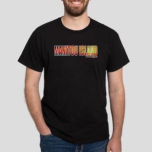 Manitou Island, Michigan Dark T-Shirt