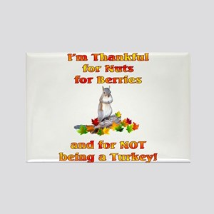 Thankful Rectangle Magnet