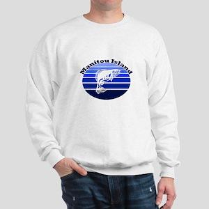 Manitou Island, Michigan Sweatshirt