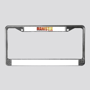 Manistee, Michigan License Plate Frame