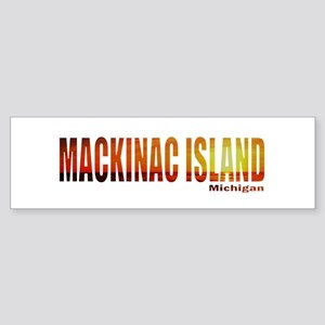 Mackinac Island, Michigan Bumper Sticker